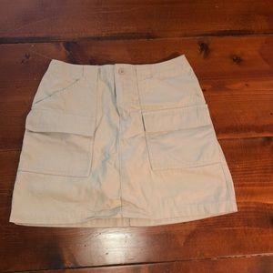 Gap cargo skirt